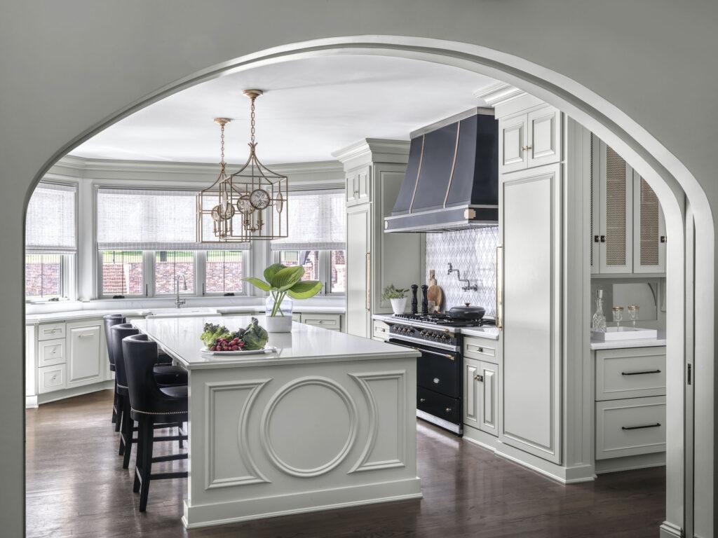 Kitchen of English Manor